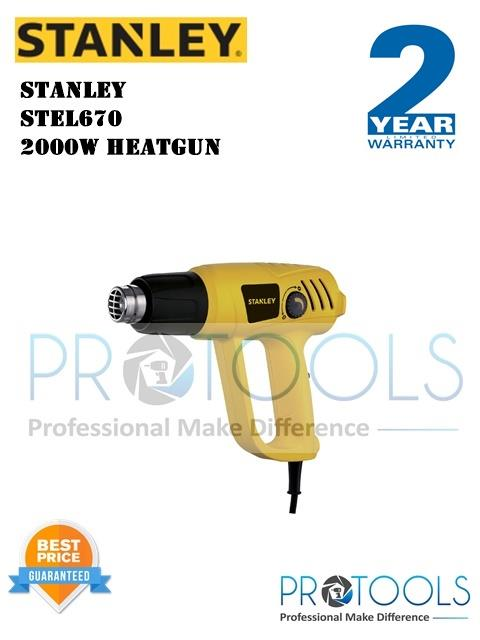 STANLEY STEL670 2000W HEATGUN - 2 years warranty