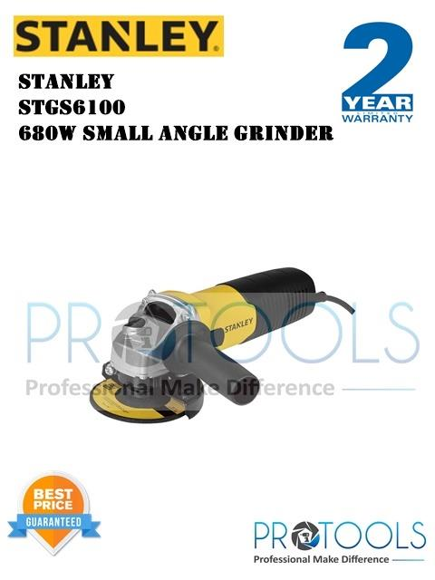 STANLEY STGS6100 680W SMALL ANGLE GRINDER