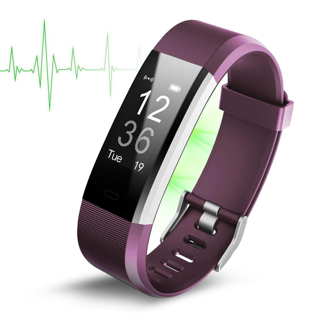 fitness black counter catalogue bracelet monitor distance rate pedometer sleep heart bluetooth pressure cvaia blood tracker