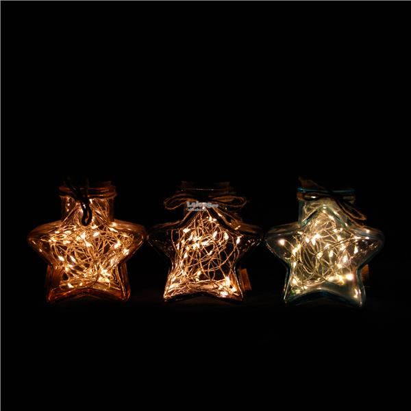 Star Shaped Rattan Led lights Decoration USB Lamp