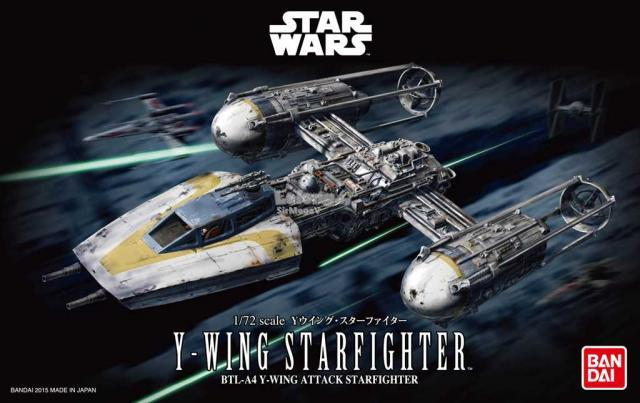 Star Wars - 1/72 Y-Wing Starfighter