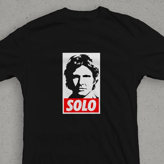 Star Wars Hans Solo OBEY (Black) T-Shirt