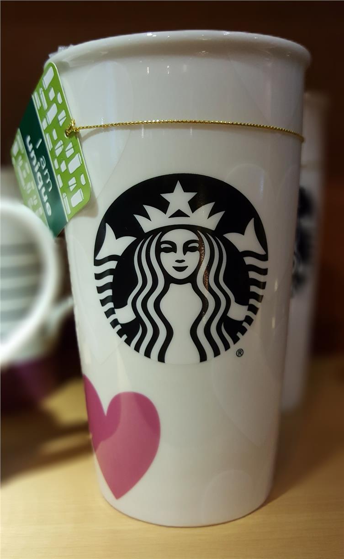 Starbucks Valentine 2016 U0026#10084; Ceramic Tumbler (Special ...