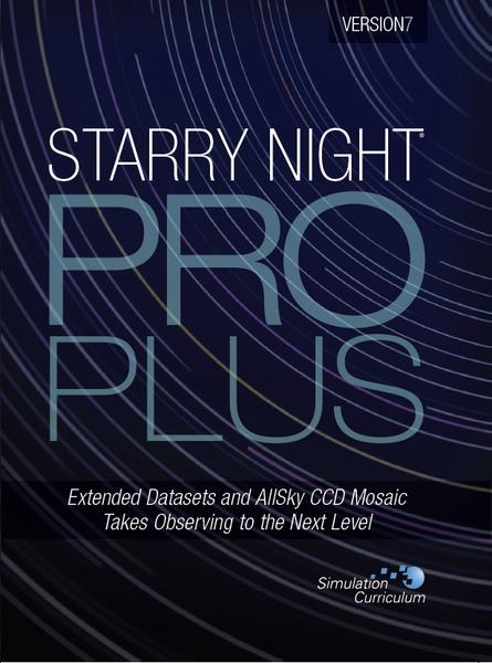 Starry Night Pro Plus Version 7 Astronomy Software