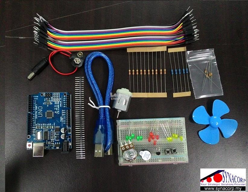 Starter kit for arduino uno r sch end  am