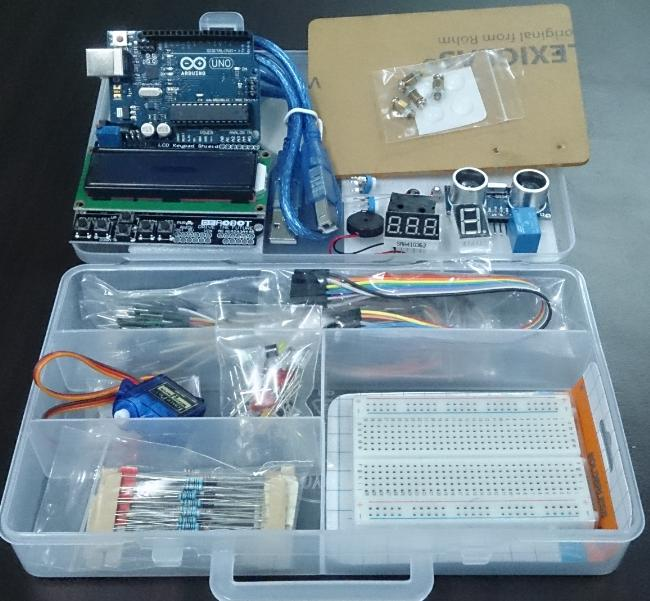 Starter kit pack for arduino uno r end am