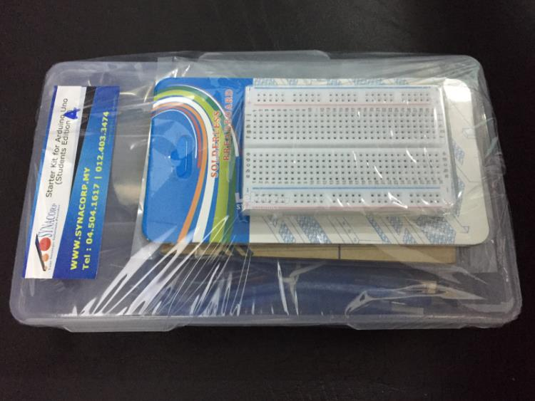 Starter Kit Pack for Arduino Uno R3 (Advanced) c/w ARDUINO BASE!!