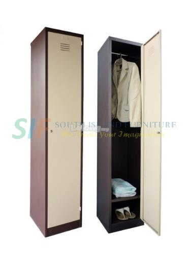 STEEL LOCKER 1 COMPARTMENT ( 381W x 381D x 1828H mm)