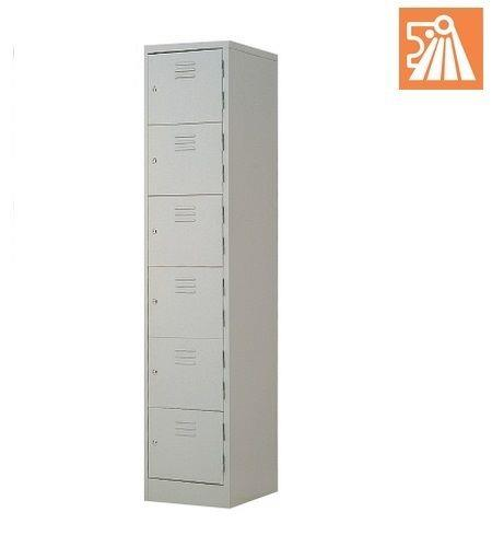 Steel Locker L556B 6Compartments 380(W)X457(D)X1830(H)mm