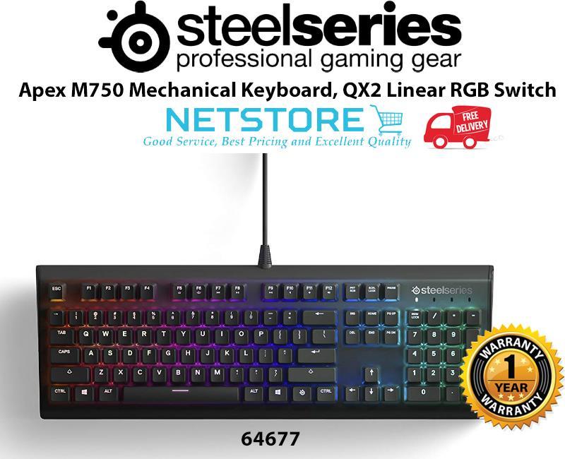 Steelseries Apex M750 (QX2 RGB Mechanical Switch) - 64677