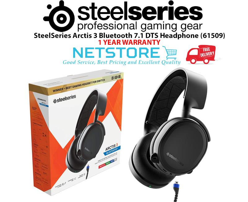 21575d59ad1 SteelSeries Arctis 3 BLUETOOTH (2019 Edition) Gaming Headset (61509)