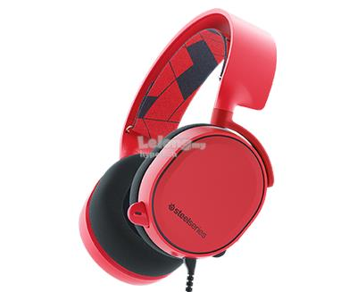 SteelSeries Arctis 3 Red 7.1 DTS Heaadphone (61435)