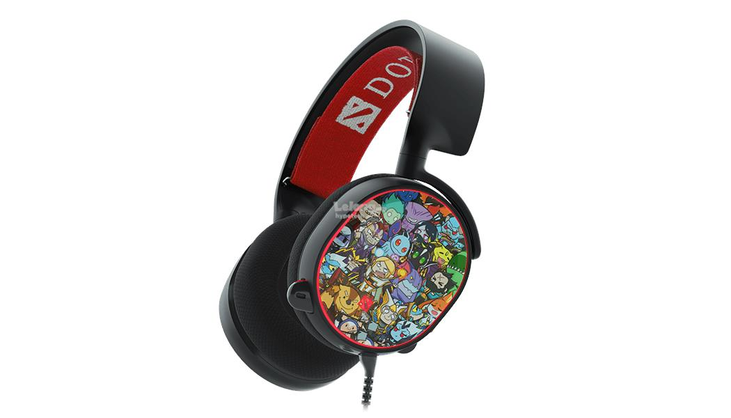 SteelSeries Arctis 5 Dota 2 Edition Headphone (61445)