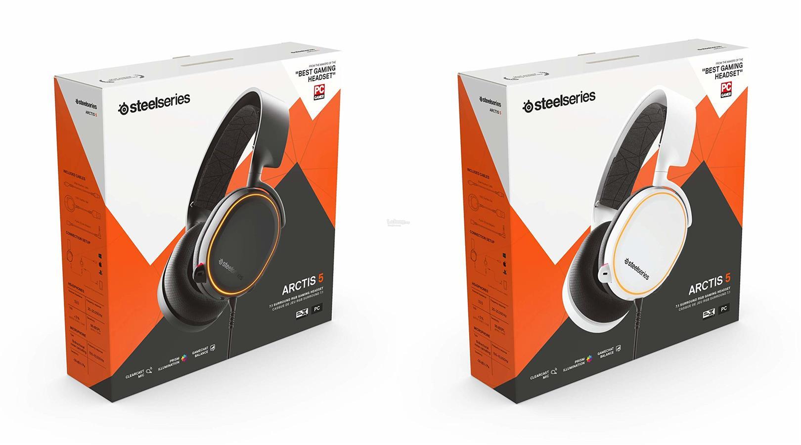 # STEELSERIES Arctis 5 RGB Illuminated Gaming Headset # 2019 Edition