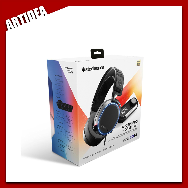eea13c23837 Steelseries Arctis Pro RGB with Game DAC   61453   ARTIDEA. ‹ ›