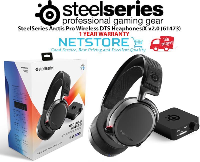 SteelSeries Arctis Pro Wireless DTS Heaphones:X v2 0 (61473)