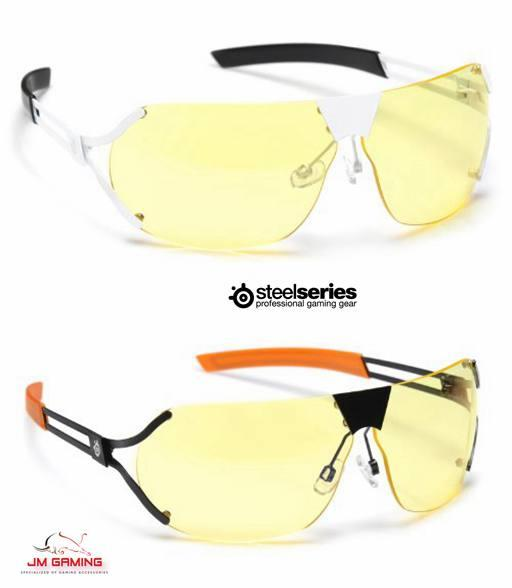 SteelSeries Desmo Semi-Rimless Ad Video Gaming Glasses Amber Lens Tint. ‹ › f69fc85ccc
