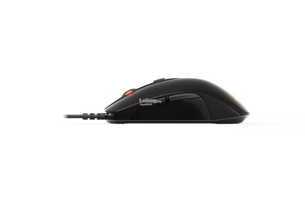 SteelSeries Rival 110 Matte Black Gaming Mouse(RGB)(62466)