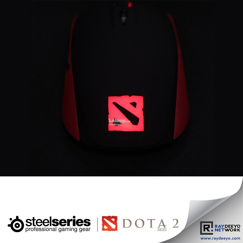 SteelSeries Rival100 DOTA 2 Special Edition Gaming Mouse