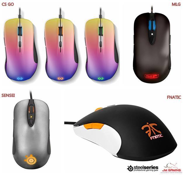 SteelSeries Sensei Fnatic Cs-go IG Edition Laser Optical Gaming Mouse