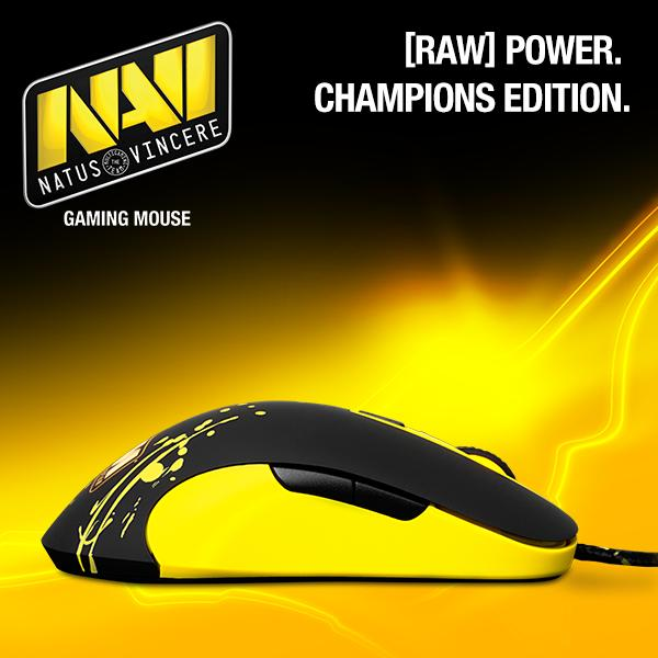 Buy steelseries sensei raw navi edition gaming mouse.