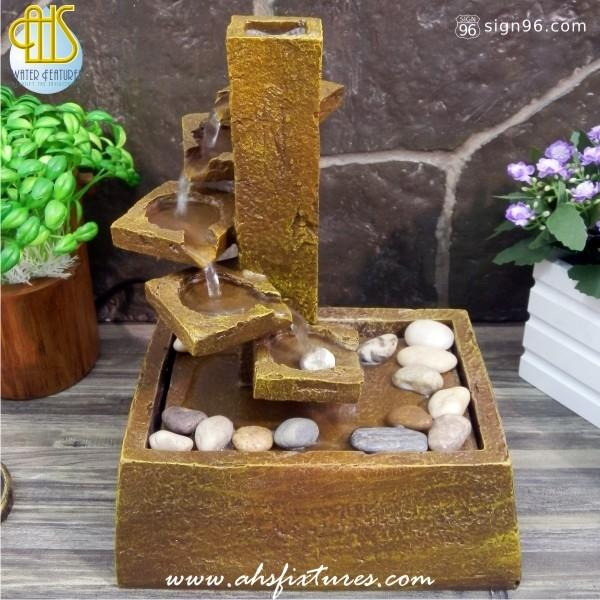 Steps Tabletop Desktop Water Fountain end 272015 415 PM