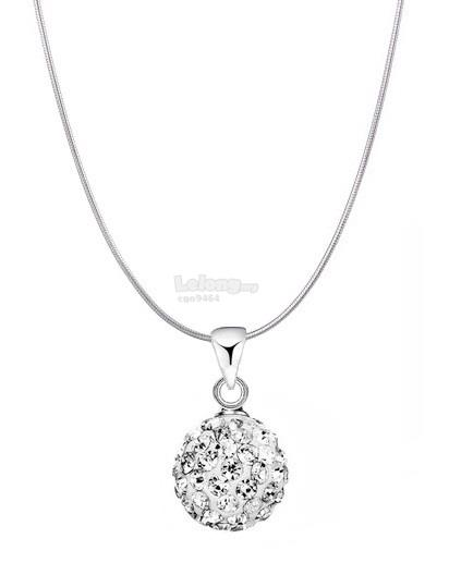 Sterling silver diamond ball pendant end 8162018 615 am sterling silver diamond ball pendant necklace aloadofball Image collections