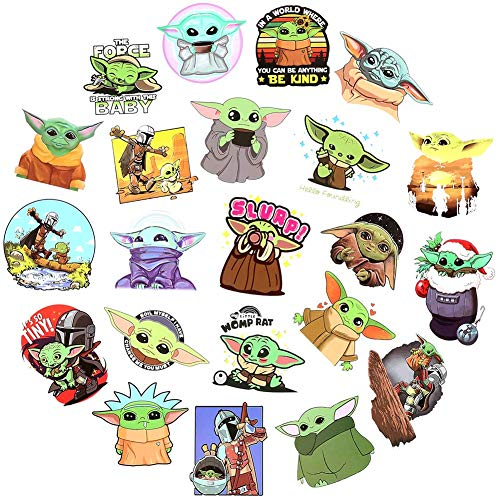 Stickers Pack for Baby Yoda - 50pcs (end 5/13/2021 12:00 AM)