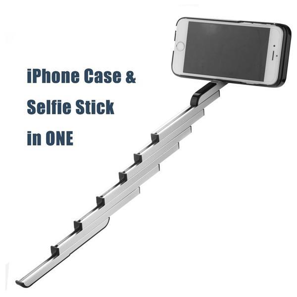 info for 4ca93 47ae6 Stikbox Selfie Stick Aluminum Case Bluetooth Remote iPhone 6 6Plus