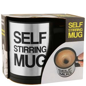Self Stirring Mug. Your Best Companion For Work and Travel