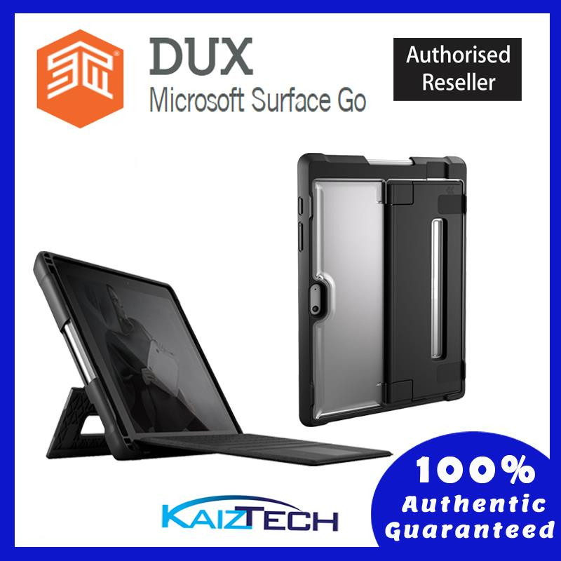 Stm Dux Rugged Case For Microsoft Surface Go Black