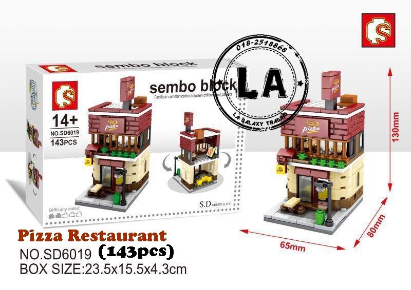STOCK CLEARANCE) Sembo SD6019 Pizza (end 1/12/2018 7:15 PM)