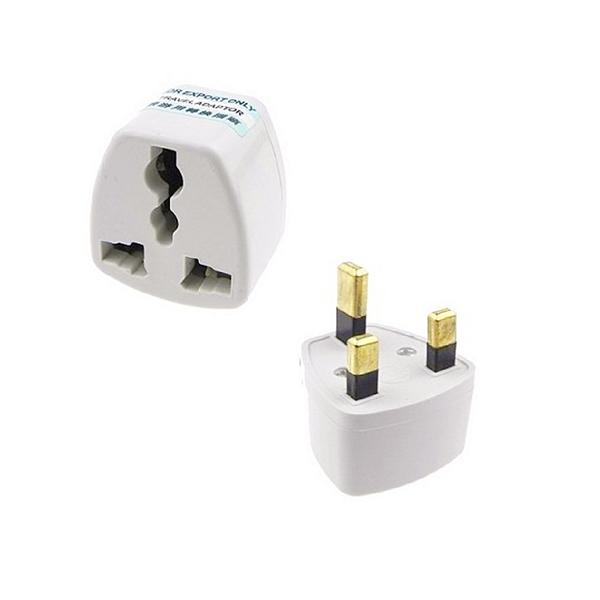 Stock Clearance Universal Uk 3 Pin Travel Plug Socket Adapter Adaptor