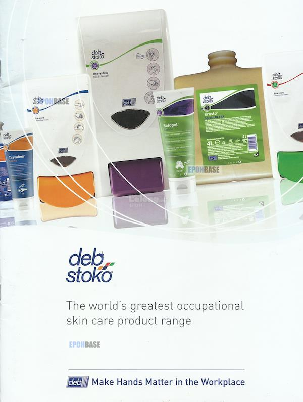 Stokederm Protect PURE DEB STOKO Workplace Skin Protection Cream 1L