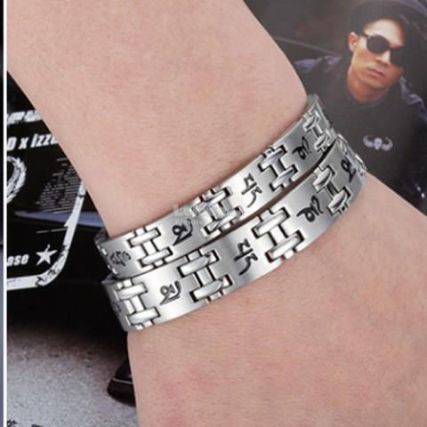 Stone Anti-radiation & Fatigue Protection Stainless Steel Couple Brace