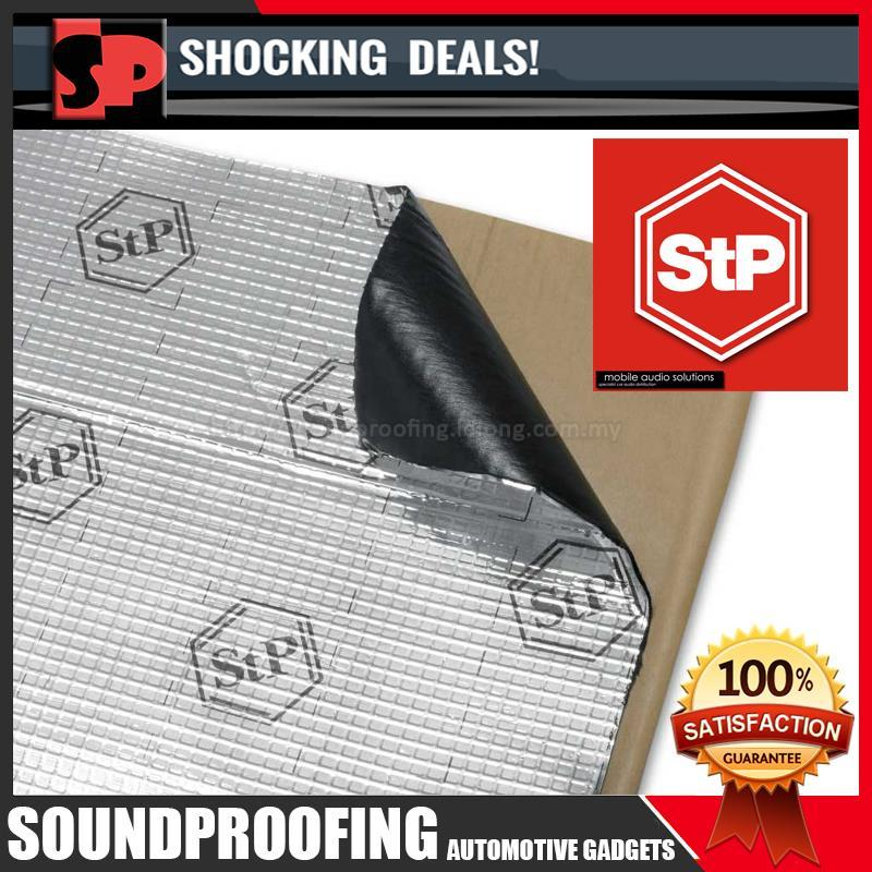 STP Silver Antirust Sound Proof & Vibration Solution (Made in Russia)