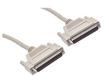 Straight Through Male to Male 37 Pin DB37 Extension Cable (3m)