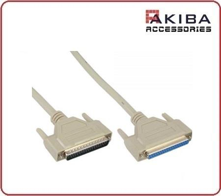 Straight Pin 37p Male M to F DB37 Parallel Extension Cable (1.8m)