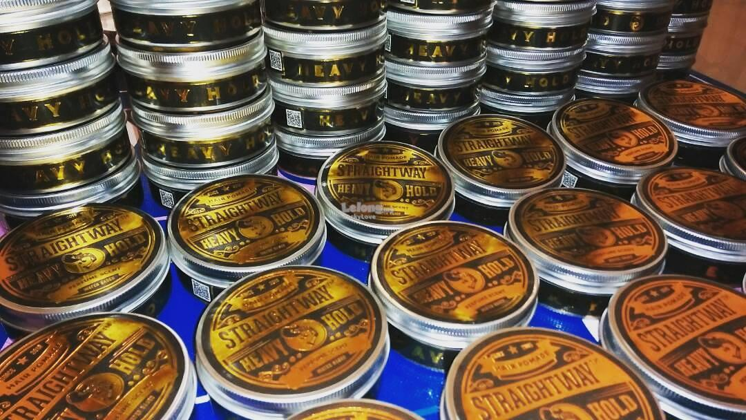 Straightway Hair Rambut Pomade Gel Wax [ 100% Original ] Straight Way