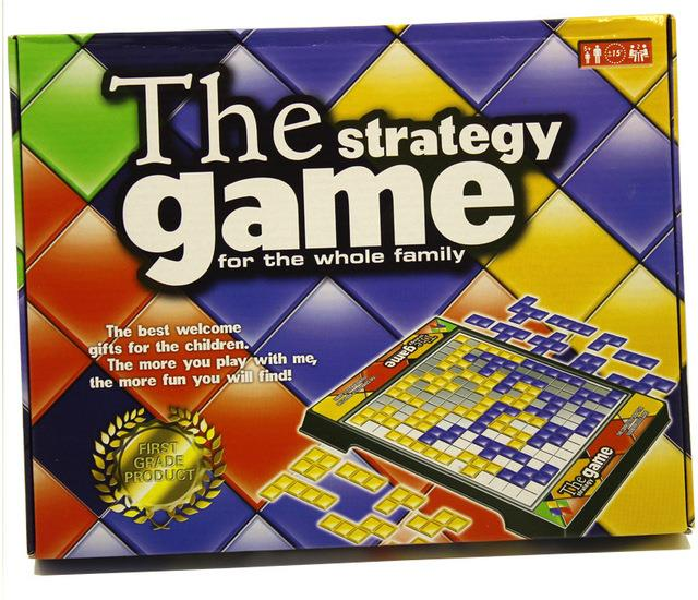 The Strategy Game Board Game Blokus 2 Players for Kid Adult