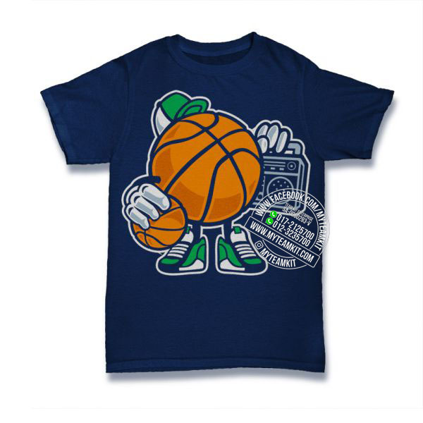 Street Basketball T-shirt Custom Tee