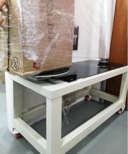 Stretch Film Roller Table Meja Bungkus Packing Packaging Bungkusan