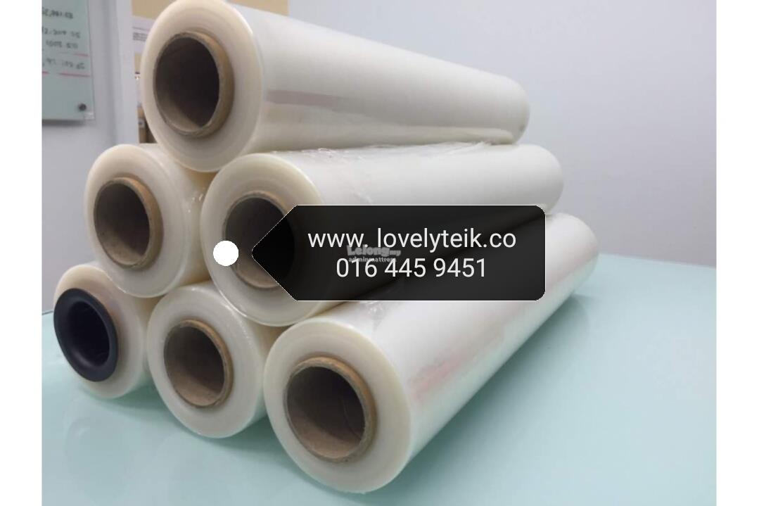 stretch film2.4kg 500mm 400g packaging protection clear wrapping