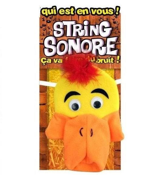 STRING SONORE MUSIC DUCK FUNNY UNDERWEAR