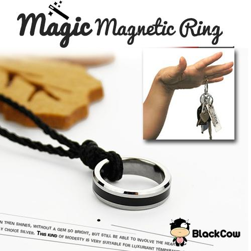 Strong Magnetic Ring / Magic Tricks / Magic Tools/Couple Ring (No GST)