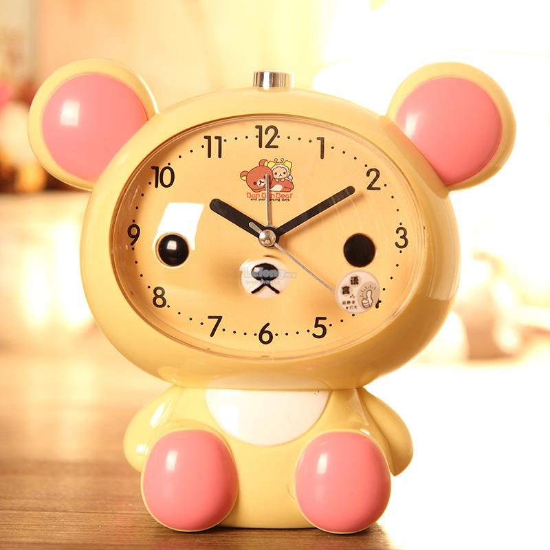 Student Alarm Clock with Cute Design Hello Kitty Doraemon