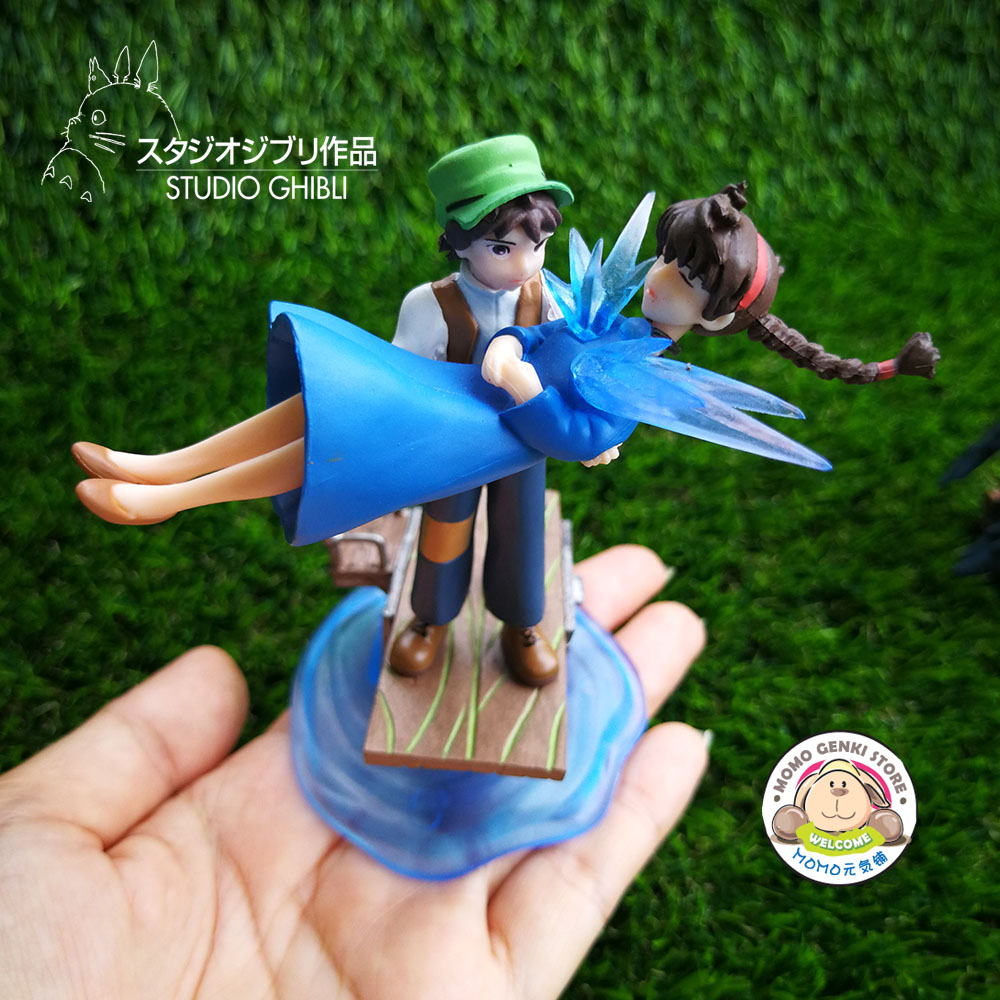 Studio Ghibli Totoro Castle in the Sky Figures Toy Doll Cake Topper
