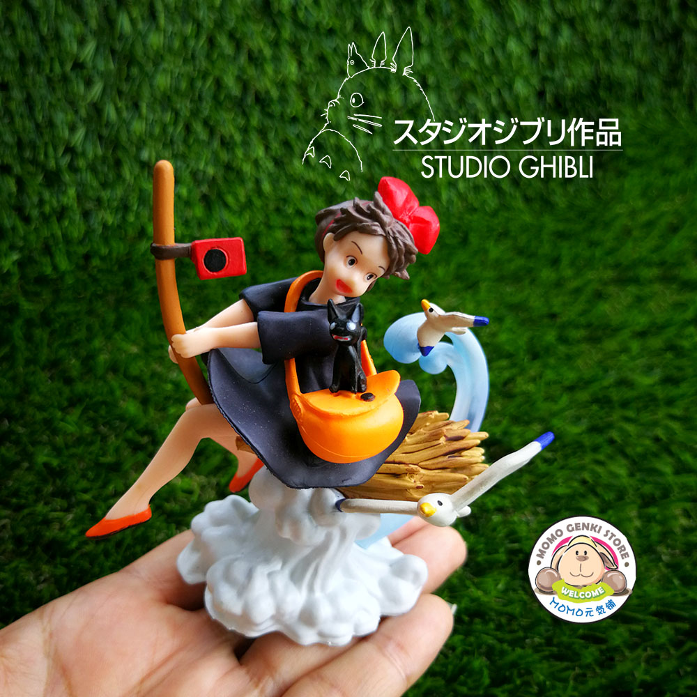 Studio Ghibli Totoro Kiki's Delivery Service Figures Toy Doll Cake Top
