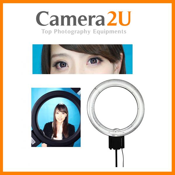 Studio Potrait Pro Ring Light 65W 5400K with Dimmer Diffuser CN-65C