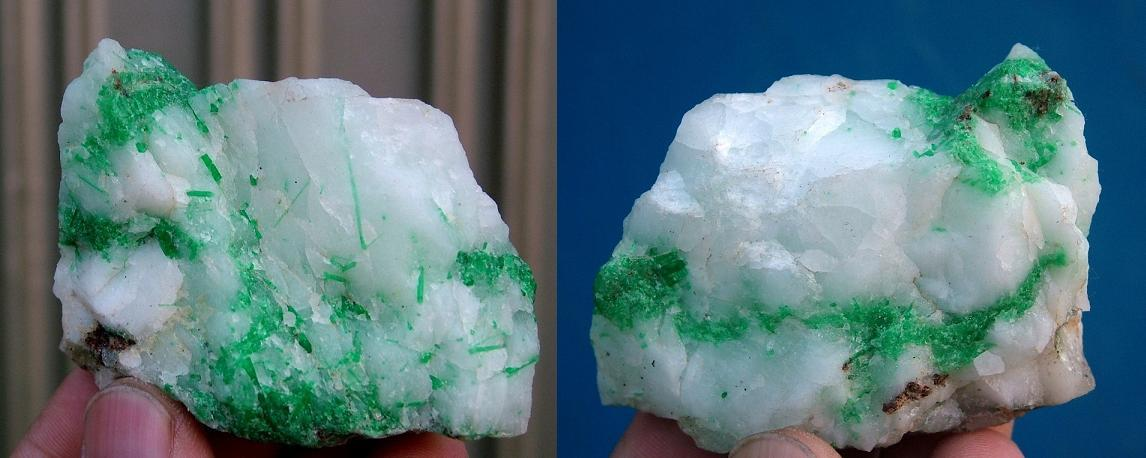 STUNNING GREEN EMERALD ROUGH STONE FROM SWAT PAKISTAN-535CT-ER104